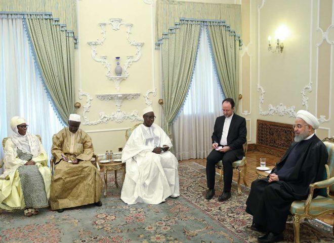 روحانی در دیدار با سفیر جدید مالی: ایران خواهان گسترش روابط با کشورهای آفریقایی است