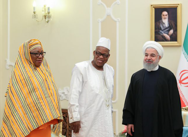 روحانی در دیدار سفیر جدید سیرالئون: توسعه روابط با کشورهای آفریقایی برای ایران اهمیت زیادی دارد