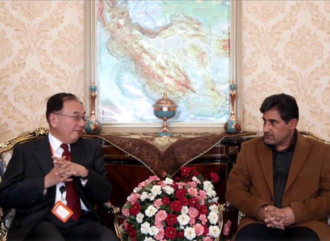 دیدار شهاب نادری با سفیر ژاپن در تهران