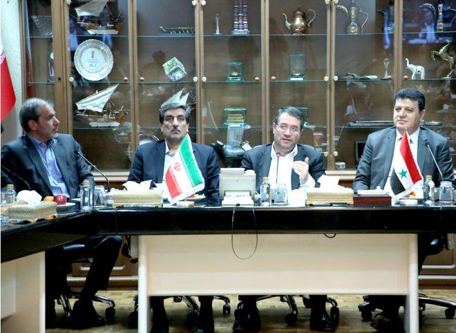سفیر سوریه در تهران در دیدار با وزیر صنعت: ایران در اولویت مشارکت اقتصادی و بازسازی سوریه قرار دارد