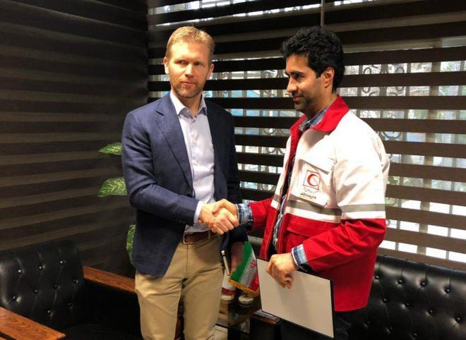 قدردانی سفیر نروژ از امدادرسانی هلال احمر ایران به سیل زدگان