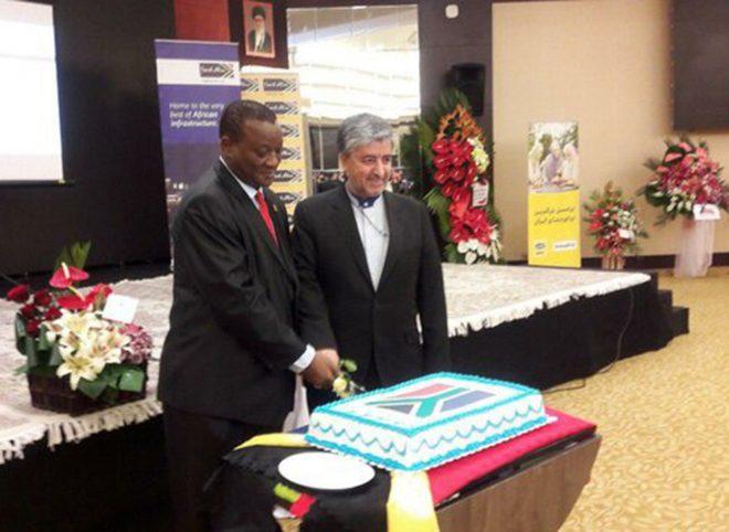 سفیر آفریقای جنوبی در ایران: روحانی سال جاری میلادی به آفریقای جنوبی سفر میکند
