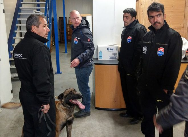 افزایش دانش مربیان مرکز سگ گمرک ایران توسط دفتر مقابله با مواد مخدر و جرم سازمان ملل متحد