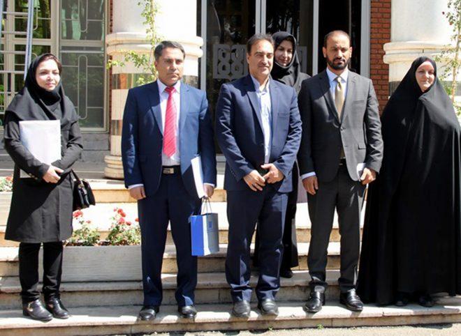 بازدید کاردار سفارت افغانستان از دانشکده پرستاری و مامایی تهران