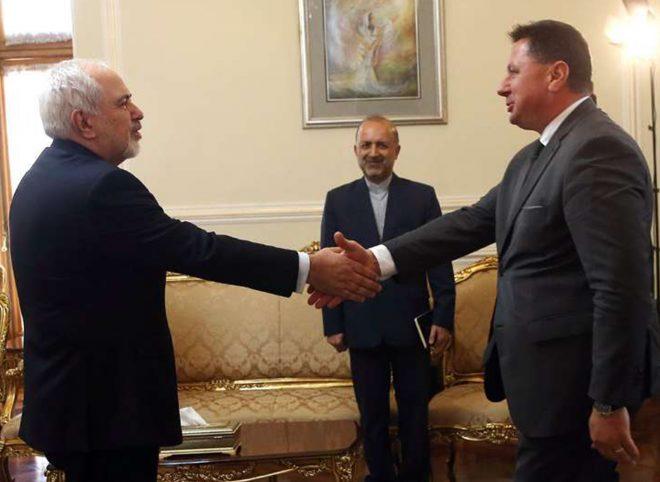 دیدار خداحافظی سفیر بلغارستان با ظریف