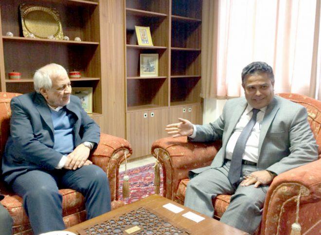 دیدار دبیرکل حزب موتلفه اسلامی با سفیر سریلانکا در تهران