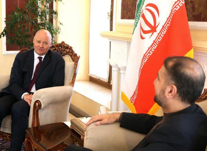 دیدار امیرعبداللهیان با سفیر آلمان در تهران