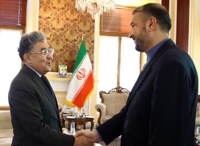 دیدار امیرعبداللهیان با سفیر قزاقستان در تهران