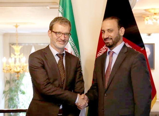 دیدار سرپرست سفارت افغانستان در ایران با معاون سفیر بلژیک در تهران