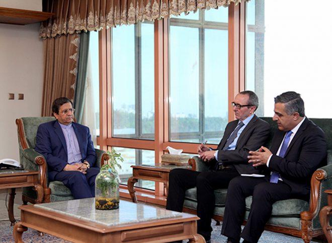 دیدار سفیر اتریش با رییس کل بانک مرکزی