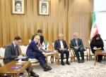 دیدار سفیر کرواسی در تهران با رئیس اتاق بازرگانی ایران