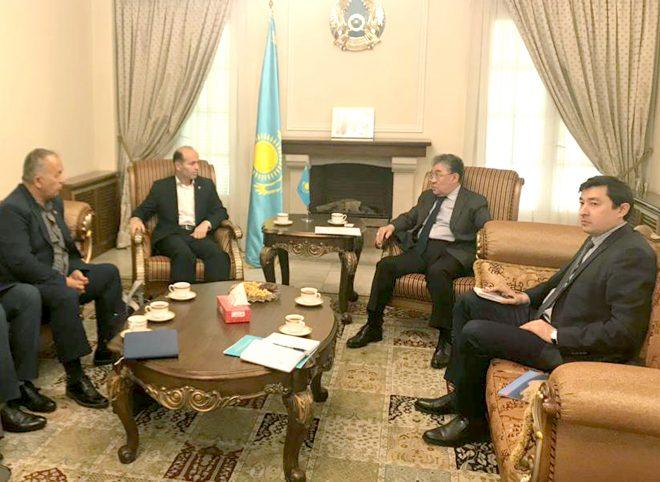 تمایل کشور قزاقستان به سرمایه گذاری در زمینه احداث انبار و سیلو در بندر چابهار