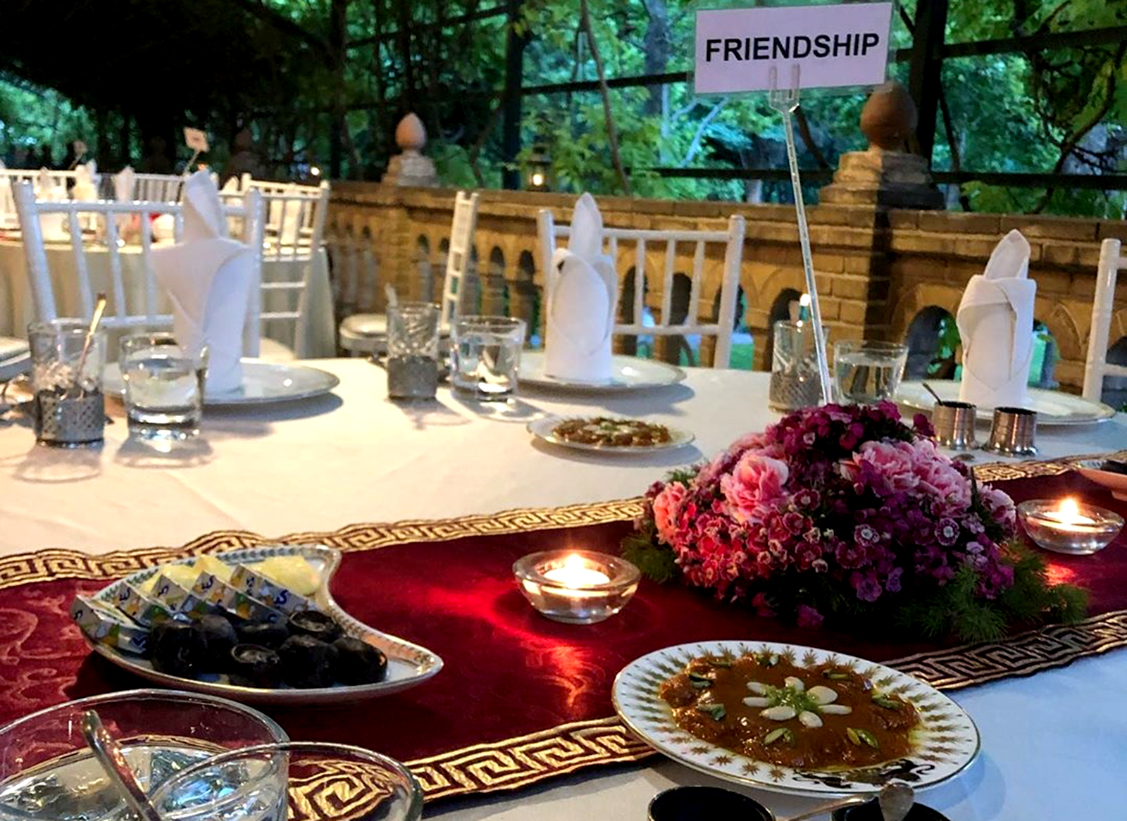 افطاری سفیر انگلیس برای بخش خصوصی ایران