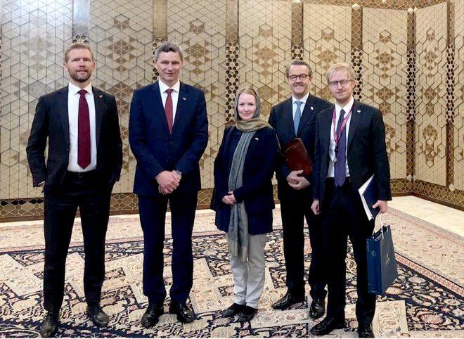 گزارش سفیر نروژ در ایران از نهمین دور رایزنیهای سیاسی تهران-اسلو