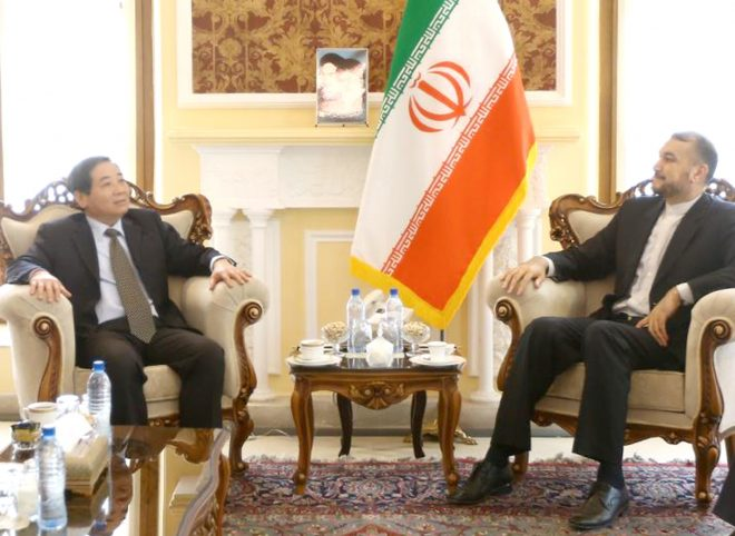 امیرعبداللهیان در دیدار با سفیر ویتنام از رفتار یکجانبه گرایانه آمریکا شدیدا انتقاد کرد