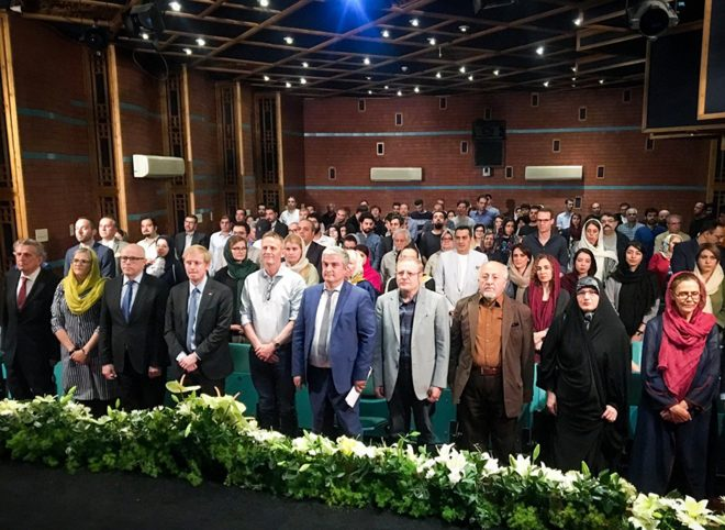 افتتاح «هفته فرهنگی نوردیک» در خانه هنرمندان ایران شد.