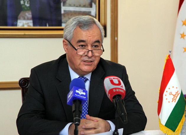سفیر تاجیکستان: برای مبارزه با تروریسم با ایران همکاری داریم