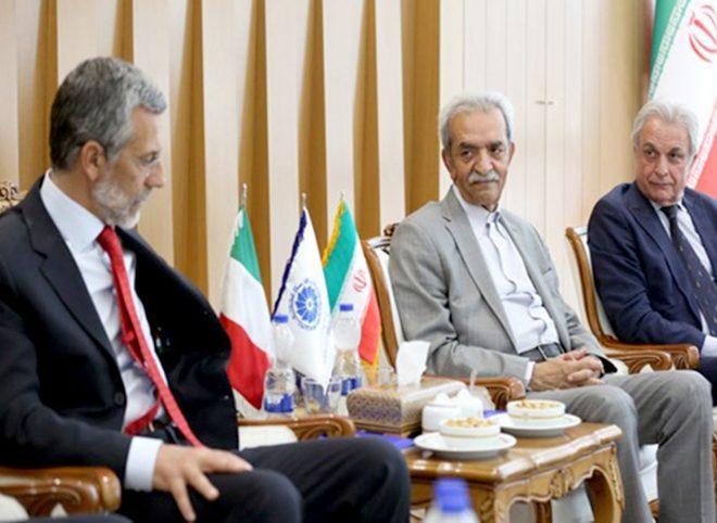 آخرین دیدار  رسمی سفیر ایتالیا پیش از ترک تهران