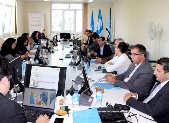 برگزاری کارگاه «ارزیابی سریع چشمی مراکز درمانی» توسط برنامه اسکان بشر ملل متحد