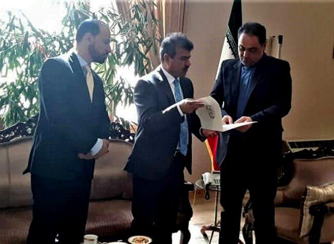دیدار سفیر جدید افغانستان با مدیر کل تشریفات وزارت امور خارجه
