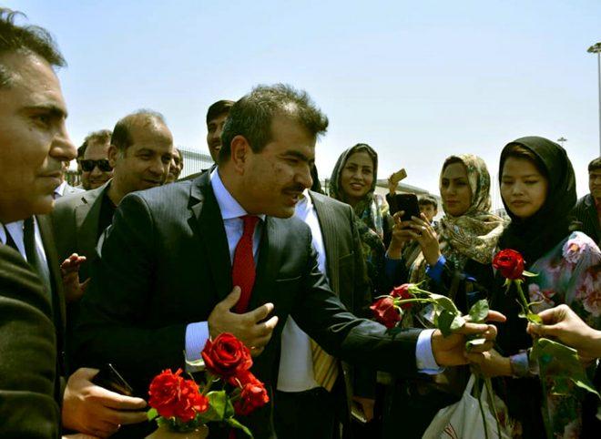 آغاز به کار عبدالغفور لیوال، سفیر جدید افغانستان در ایران