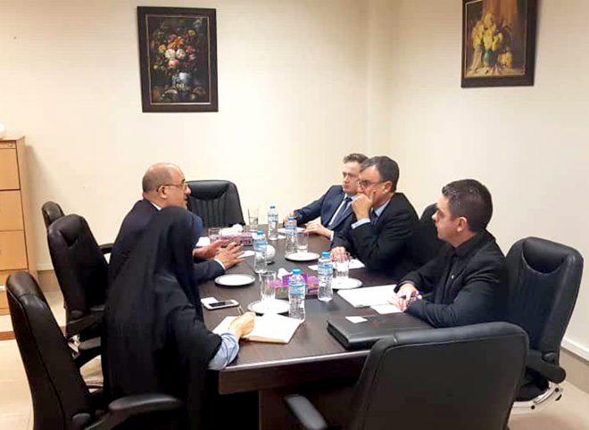 ملاقات معاون بین الملل ستاد حقوق بشر با سفیر استرالیا در ایران