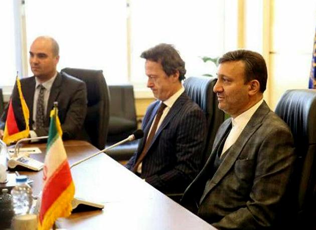 دیدار شهردار رشت با کاردار سفارت جمهوری فدرال آلمان در ایران