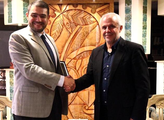 سفیر مکزیک به دیدار رییس سازمان فرهنگی شهرداری تهران رفت