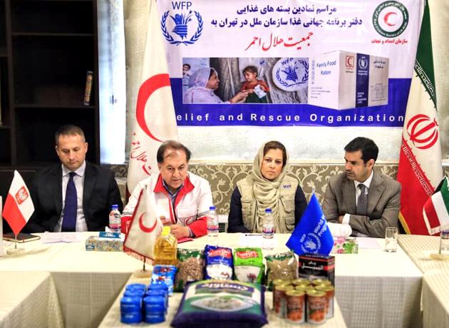 توزیع بیش از سه هزار بسته برنامه جهانی غذا در مناطق سیلزده لرستان