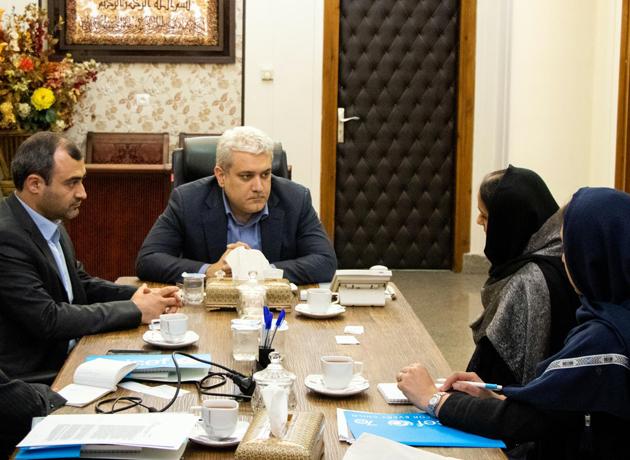 دیدار و تبادل نظر رئیس دفتر یونیسف در ایران با دکتر سورنا ستاری
