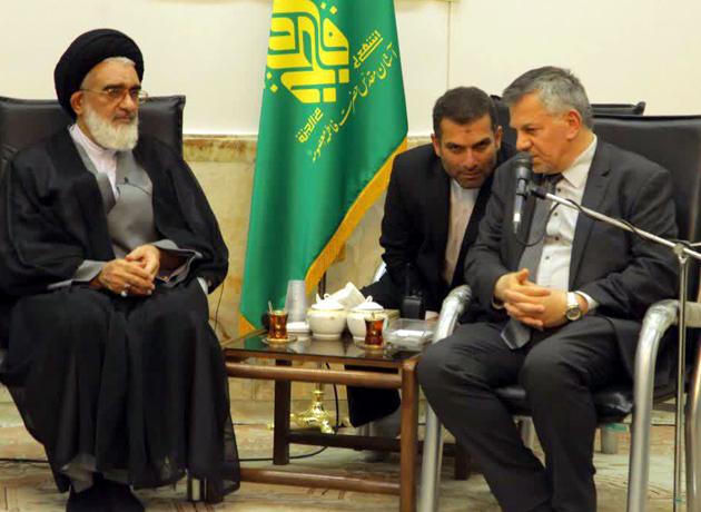 سفیر عراق در دیدار با آیتالله سعیدی: آماده ارائه خدمت به زائران اربعین هستیم