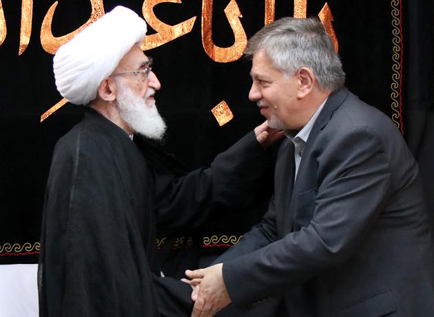 آیت الله نوری همدانی خطاب به سفیر عراق: پیاده روی اربعین مظهر وحدت و اتحاد ایران و عراق است