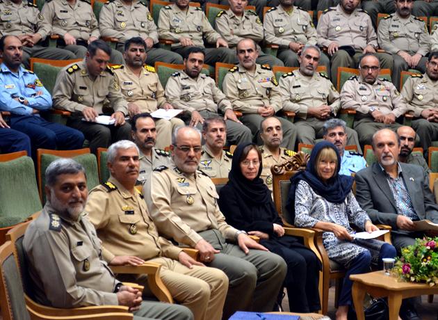گرامیداشت روز بین المللی صلح در دانشگاه فرماندهی و ستاد ارتش جمهوری اسلامی ایران