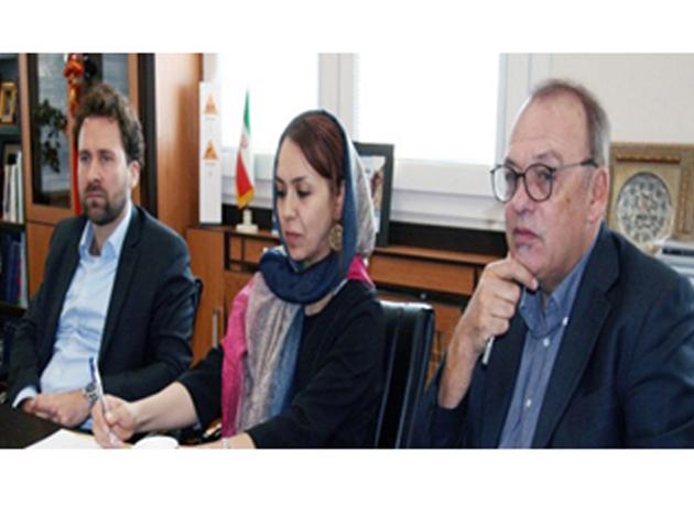 دیدار دبیر اول سفارت آلمان با معاون بینالملل دانشگاه تهران
