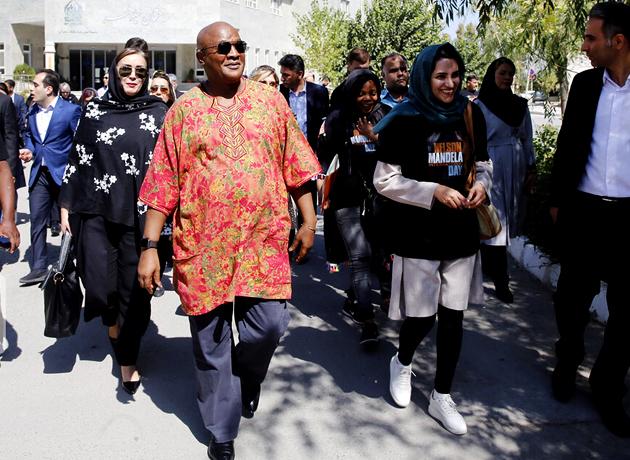 بازدید سفیر آفریقای جنوبی از موسسه کهریزک البرز