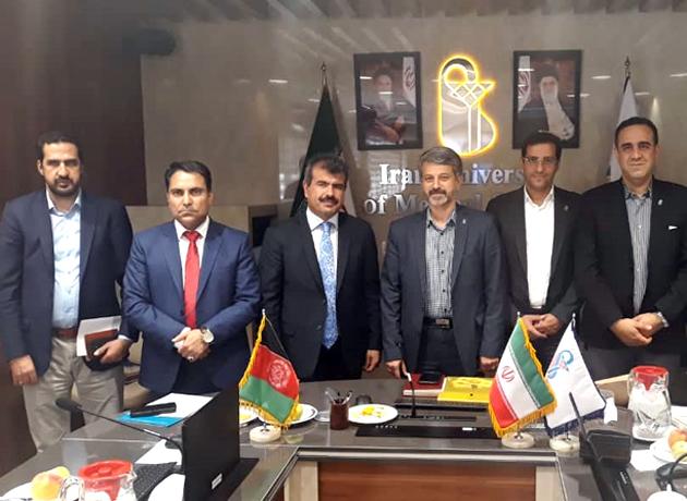 جلسه مشترک سفیر افغانستان و رئیس دانشگاه علوم پزشکی ایران