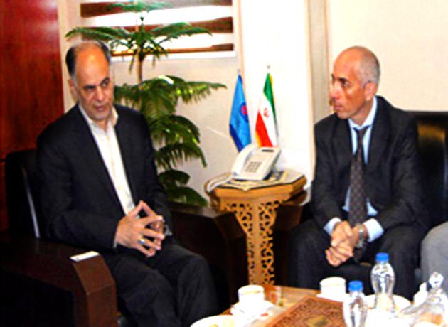 دیدار رئیس سازمان آموزش فنی و حرفه ای کشور با نماینده مقیم برنامه توسعه ملل متحد در ایران