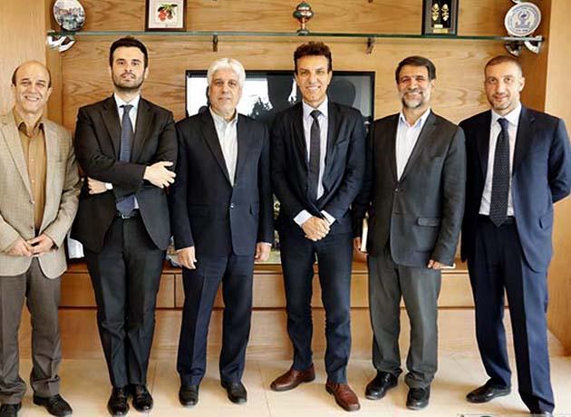 دیدار سفیر ایتالیا در ایران با رییس دانشگاه اصفهان