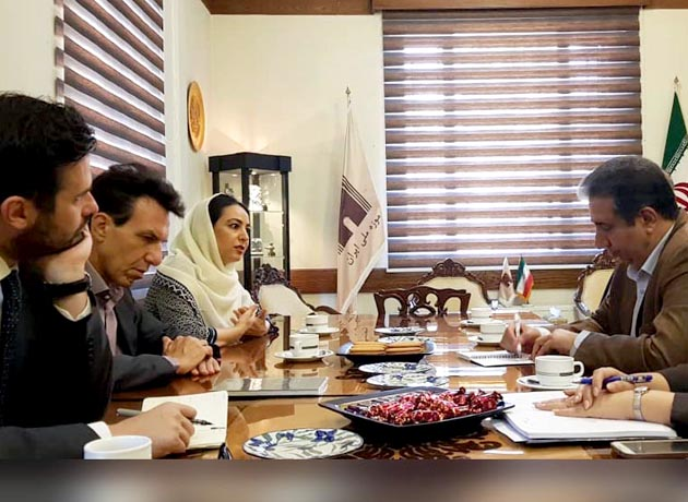 دیدار سفیر ایتالیا در تهران با رئیسکل موزه ملی ایران
