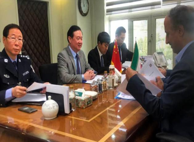 دیدار سفیر چین در تهران با رئیس کل گمرک ایران