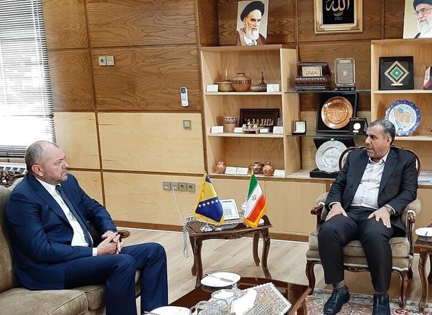 دیدار سفیر بوسنی و هرزگوین با استاندار قزوین