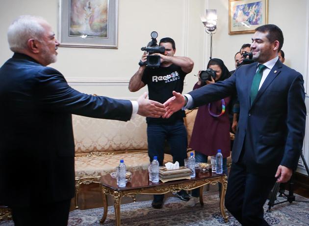 دیدار خداحافظی سفیر مکزیک با دکتر ظریف