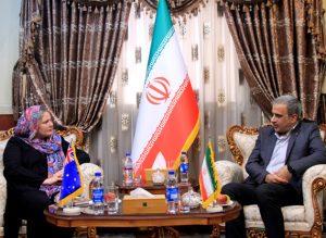 بازدید معاون سفیر استرالیا از مرکز فرماندهی مدیریت بحران تهران