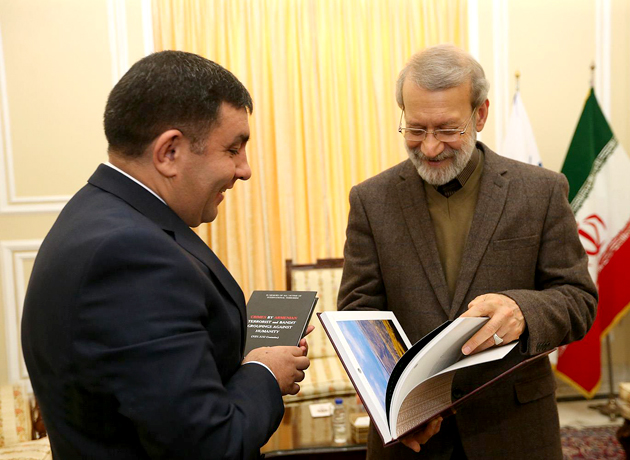 سفیر آذربایجان خطاب به لاریجانی: باکو همواره از توسعه همکاریها و مبادلات میان دو کشور حمایت میکند
