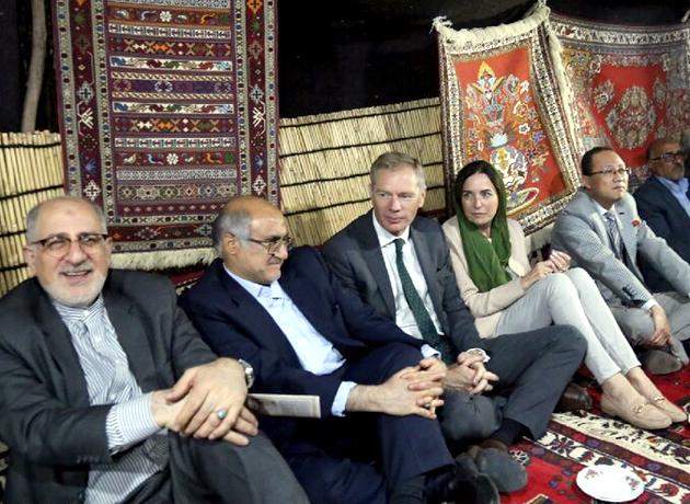 سفر 27 سفیر و رایزن اقتصادی به شهرستان سیرجان