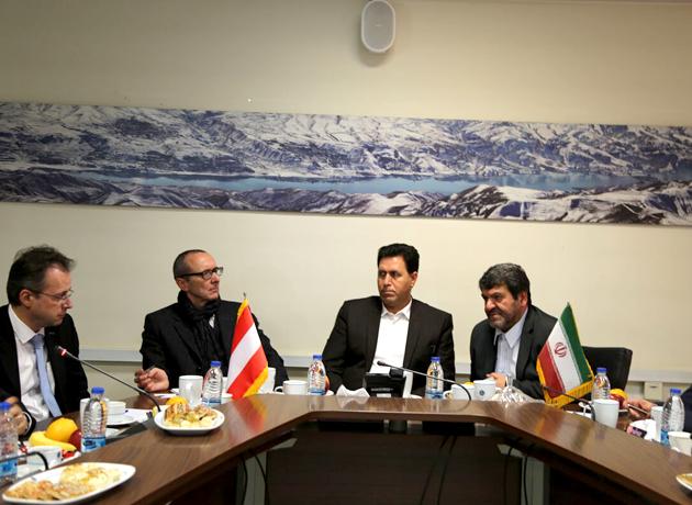 سفیر اتریش در تهران: اتریش در مسیر پویایی اقتصاد با ایران همراهی می کند