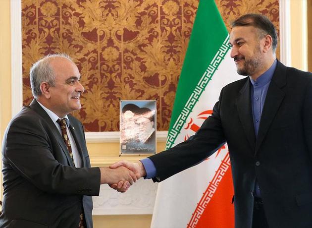 سفیر روسیه در تهران با امیرعبداللهیان دیدار کرد