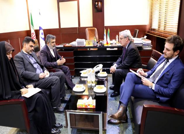 دیدار سفیر فرانسه در ایران با کمالوندی