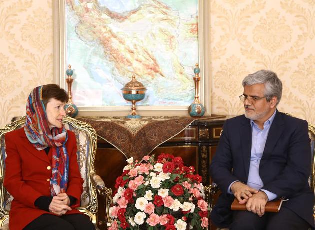 دیدار سفیر استرالیا در ایران با محمود صادقی