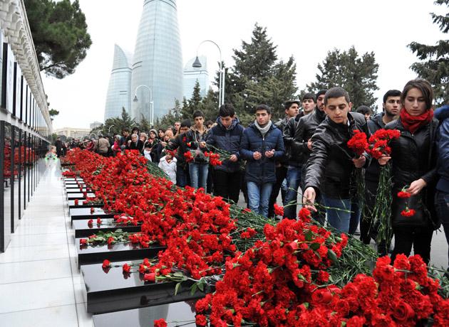 یادداشت سفارتجمهوری آذربایجان به مناسبت سالگرد شهدای ۲۰ ژانویه